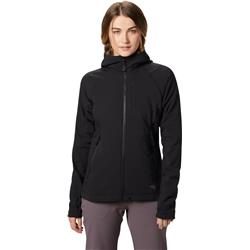 Mountain Hardwear Keele Hoody - Womens-Black