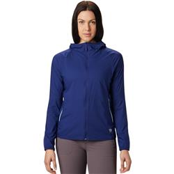 Mountain Hardwear Kor Preshell Hoody - Womens-Dark Illusion