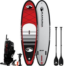 Kahuna Paddleboards iSUP - BIG 10`10 - Red / Black Trim - Package - 2019-Not Applicable