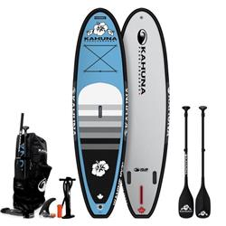 Kahuna Paddleboards iSUP - Wahine 10`2  - NC Blue /  Black Trim - Package - 2019-Not Applicable