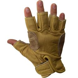 Metolius Climbing Glove - 3/4 finger-Natural