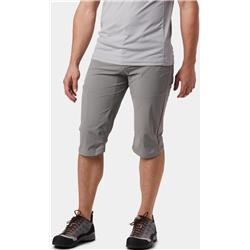 Mountain Hardwear Logan Canyon 3/4 Pants - Mens-Manta Grey