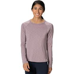 Mountain Hardwear Mighty Stripe LS T - Womens-Daze
