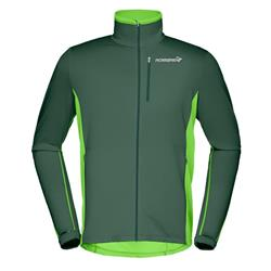 Norrona Bitihorn Warm1 Stretch Jacket - Mens-Bamboo Green