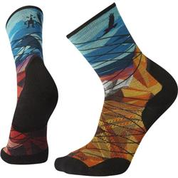 Smartwool PhD Pro Endurance Print Socks - Unisex-Bright Blue