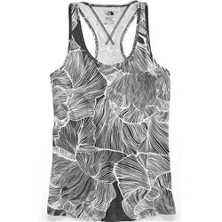 The North Face Workout Racerback - Womens-TNF Black Ginkgo Print