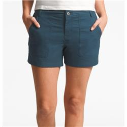 The North Face Ridgeside Shorts, Reg - Womens-Blue Wing Teal