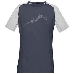 Norrona Fjora Equaliser Lightweight T-Shirt - Womens-Caviar / Drizzle
