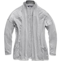 The North Face Modoc Cardigan - Womens-TNF Light Grey Heather