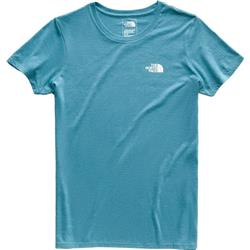The North Face Pony Wheels Tri-Blend SS Tee - Womens-Crystal Teal Heather