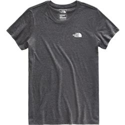 The North Face Pony Wheels Tri-Blend SS Tee - Womens-TNF Dark Grey Heather