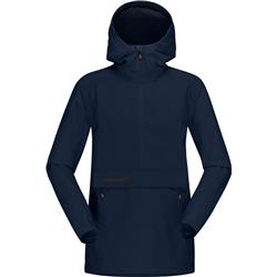 Norrona Svalbard Cotton Anorak - Womens-Indigo Night