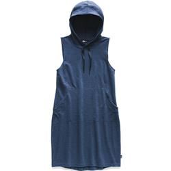 The North Face Bayocean Sleeveless Hooded Dress - Womens-Blue Wing Teal Heather