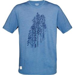 Norrona Svalbard Wool T-Shirt - Mens-Denimite