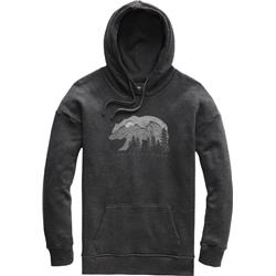 The North Face Bearscape Tri-Blend Pullover Hoodie - Womens-TNF Dark Grey Heather