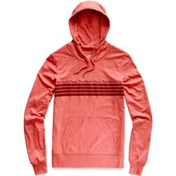 The North Face Vintage Pyrenees Lghtwght Tri-Blend Pullover Hoodie - Womens-Spiced Coral Heather