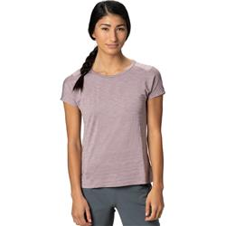 Mountain Hardwear Mighty Stripe SS T - Womens-Daze