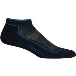 Icebreaker Lifestyle Low Cut Socks - Cool-Lite - Mens-Midnight Navy / Thunder