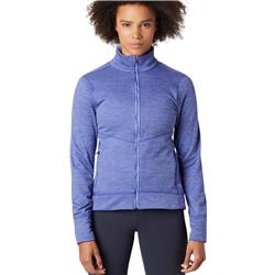 Mountain Hardwear Norse Peak Full Zip Jacket - Womens-Blue Print