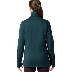 Mountain Hardwear Norse Peak Full Zip Jacket - Womens-Blue Spruce