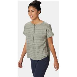 Mountain Hardwear Palisade SS Shirt - Womens-Dark Army