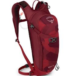 Osprey Siskin 8 - with Reservior - Mens-Molten Red