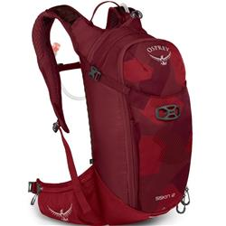 Osprey Siskin 12 - with Reservior - Mens-Molten Red
