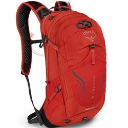 Osprey Syncro 12 - with Reservior - Mens-Firebelly Red