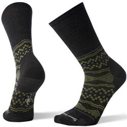 Smartwool Hahn Crew Socks - Mens-Charcoal