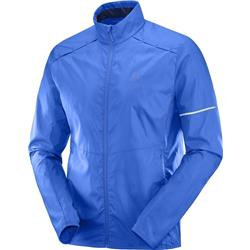Salomon Agile Wind Jacket - Mens-Nautical Blue