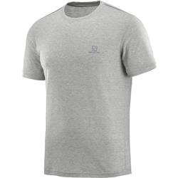 Salomon Explore SS Tee - Mens-Light Grey