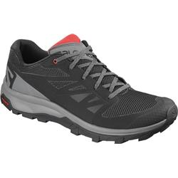 Salomon Outline - Mens-Black / Quiet Shade / High Risk Red