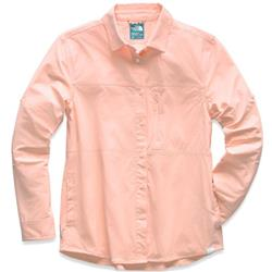 The North Face Boreaz LS Roll Up Shirt - Womens-Pink Salt