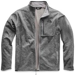 The North Face Canyonlands Full Zip - Mens-TNF Dark Grey Heather