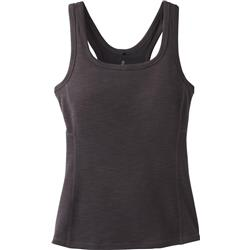 Prana Becksa Tank - Womens-Black Heather