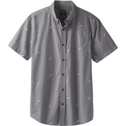 Prana Broderick Shirt - Slim - Mens-Gravel