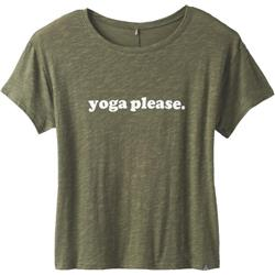 Prana Chez Tee - Womens-Cargo Yoga Please