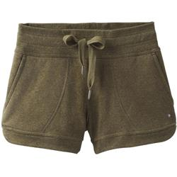 Prana Cozy Up Shorts - Womens-Cargo Green Heather