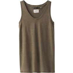 Prana Cozy Up Tank - Womens-Cargo Green Heather