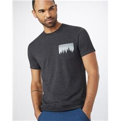 tentree Juniper Pocket T - Mens-Meteorite Black