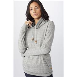 tentree Yampa Pullover Crew - Womens-Moonstruck Grey