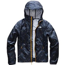 The North Face Printed Cyclone Jacket - Womens-Citrine Yellow Outdoor Print