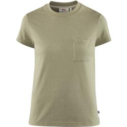 Fjallraven Greenland Re-Cotton T-Shirt SS - Womens-Green