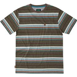 Hippy Tree Portsmith Tee - Mens-Heather Brown