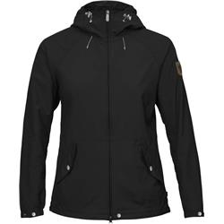 Fjallraven Greenland Wind Jacket - Womens-Black