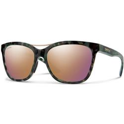Smith Optics Cavalier, Camo Tortoise Frame, Chromapop Polarized Rose Gold Lens-Not Applicable