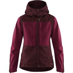 Fjallraven Keb Jacket - Womens-Dark Garnet / Plum