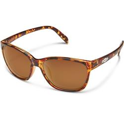 Suncloud Dawson, Tortoise Frame, Polarized Brown Lens-Not Applicable