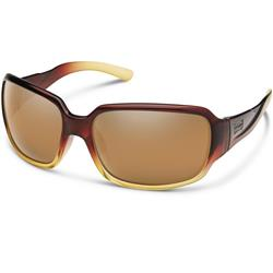 Suncloud Laurel, Brown Fade Frame, Polarized Sienna Mirror Lens-Not Applicable