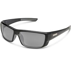 Suncloud Lock, Black Frame, Polarized Gray Lens-Not Applicable